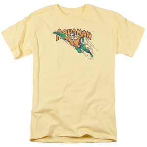 Aquaman Swim Through Retro T-Shirt