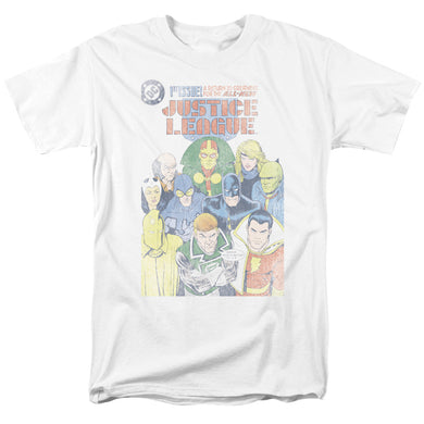 Justice League #1 Cover Retro T-Shirt