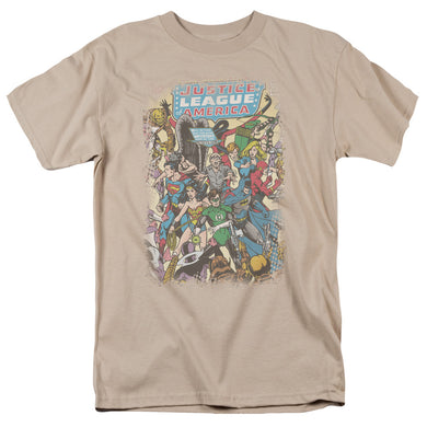 Justice League Most Important Man Retro T-Shirt