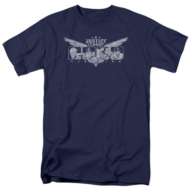 Justice League Justice Wings Retro T-Shirt