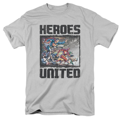 Justice League The Charge Retro T-Shirt