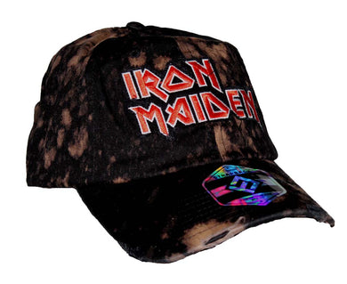 Iron Maiden Bleach Logo Hat