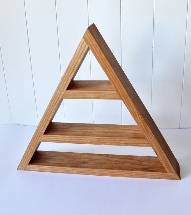 Cherry Triangle Shelf