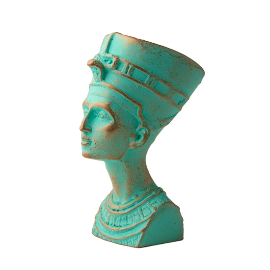 Patina Nefertiti Bust