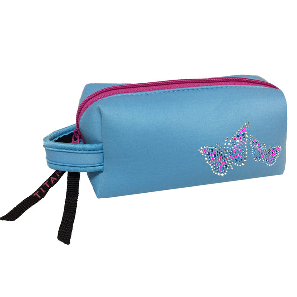 Neon Cosmetic Bag - Butterflies