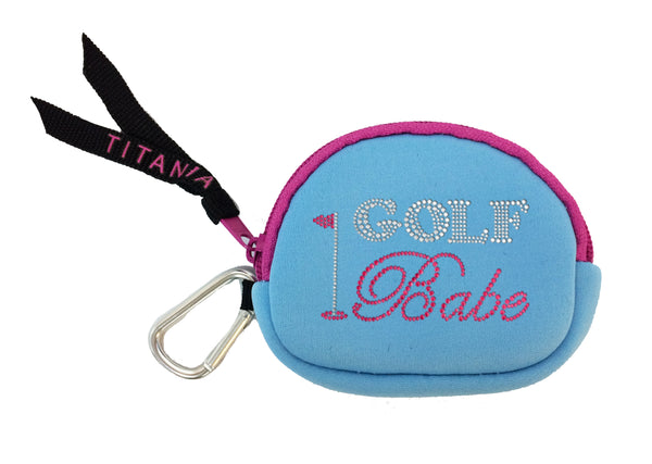 Neon Coin Purse - Golf Babe