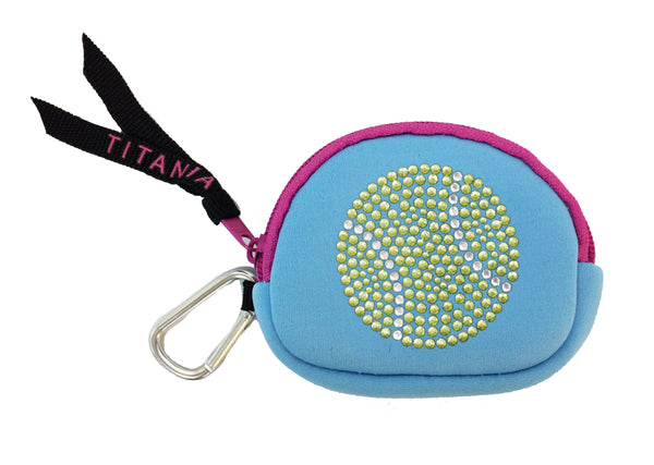 Neon Coin Purse - Tennis Ball