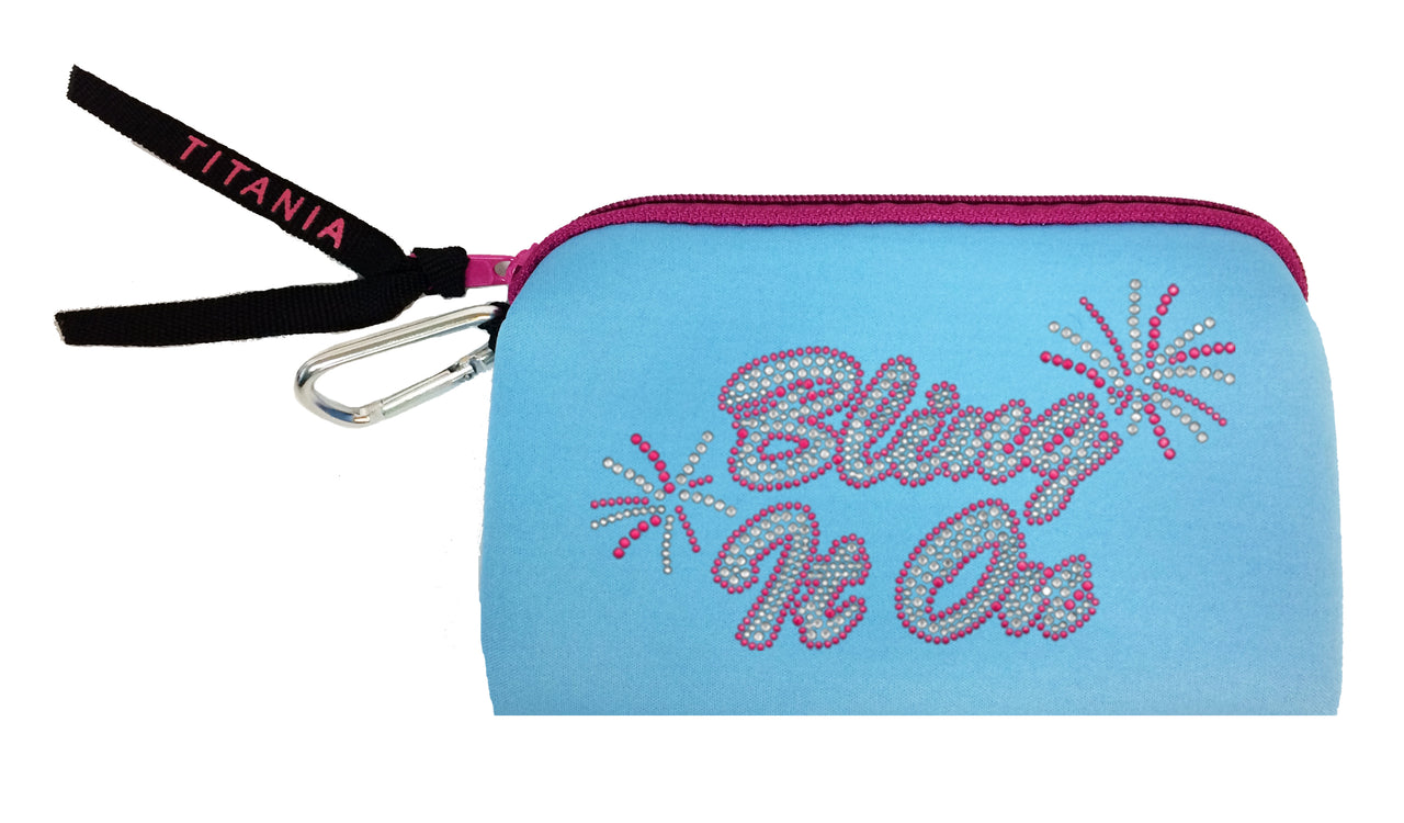 Neon Clutch Purse - Bling It On