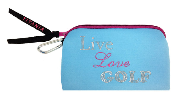 Neon Clutch Purse - Live Love Golf