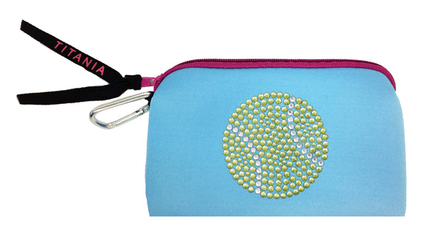 Neon Clutch Purse - Tennis Ball