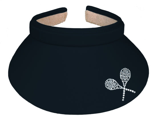 Lady's Visor   Clip-on - Tennis Raquets