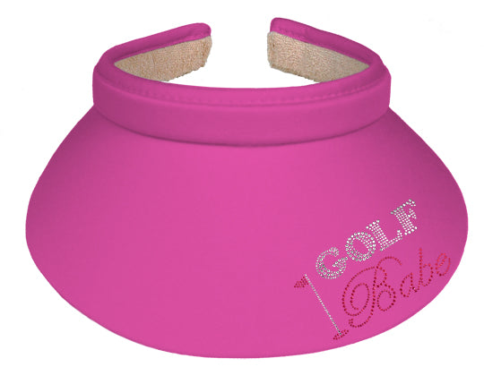 Lady's Visor   Clip-on - Golf Babe