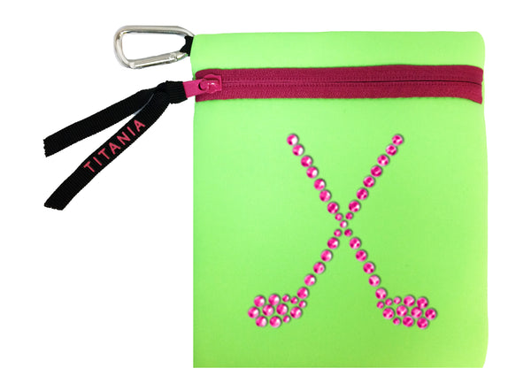 Neon Carryall - Crossed Clubs