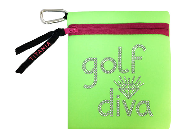 Neon Carryall - Golf Diva