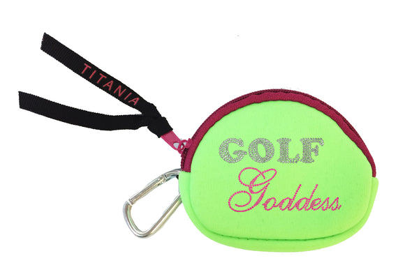 Neon Coin Purse - Golf Goddess