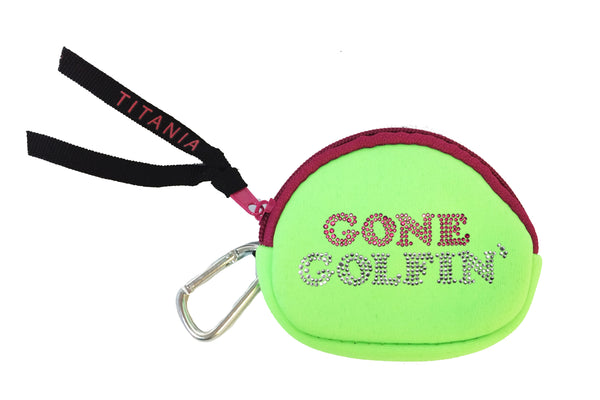 Neon Coin Purse - Gone Golfin'