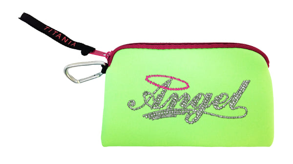 Neon Clutch Purse - Angel