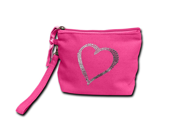 Make-Up Purse Heart