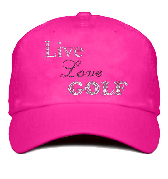 Lady's Cap - Live Love Golf