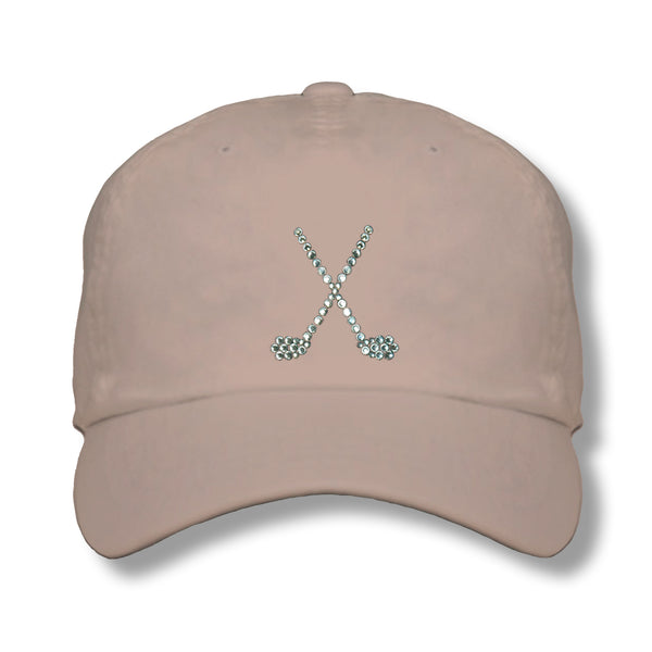 Lady's Cap - Crossed Clubs