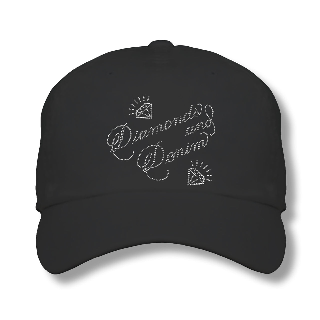 Lady's Cap - Diamonds and Denim