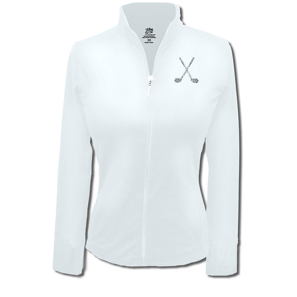 Lady's Jacket - Crossed Clubs Design