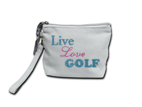 Make-Up Purse Live Love Golf