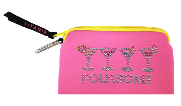 Neon Clutch Purse - Foursome