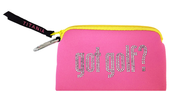 Neon Clutch Purse - Got Golf?