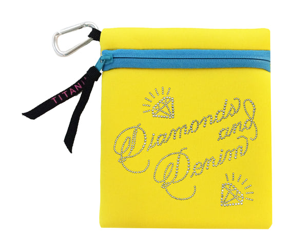 Neon Carryall - Diamonds And Denim