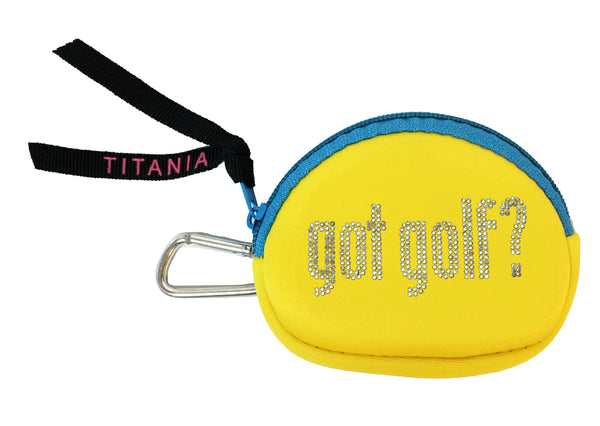Neon Coin Purse - Got Golf?