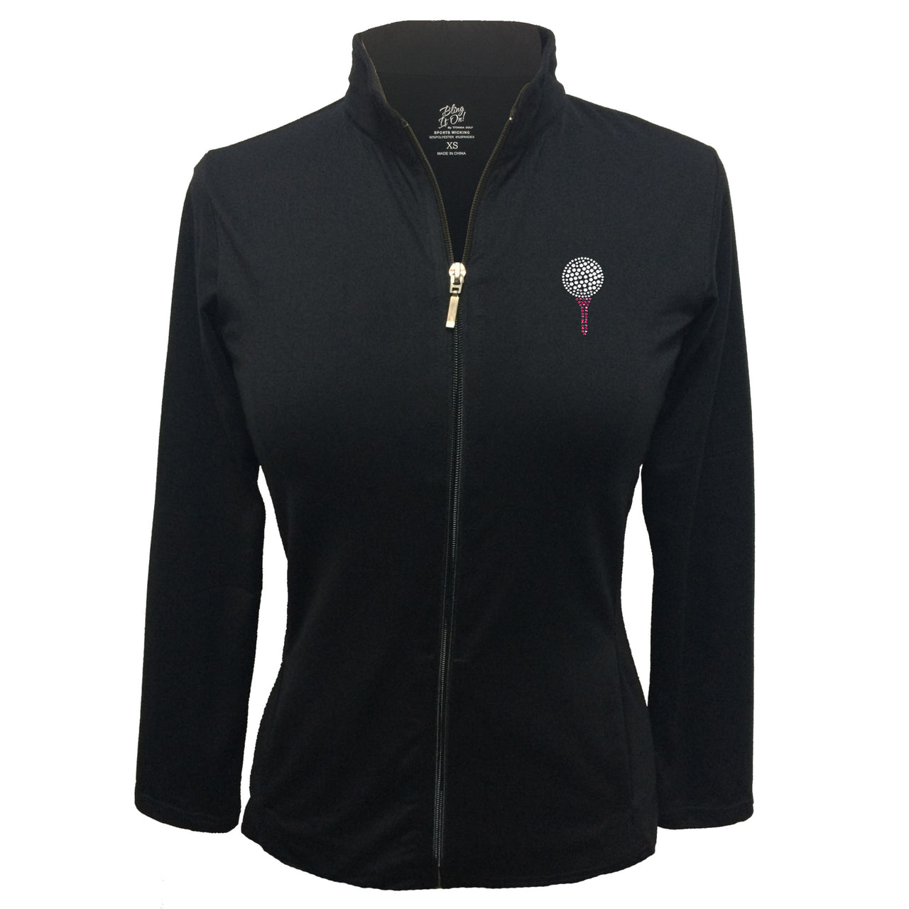 Lady's Jacket - Ball and Tee Design
