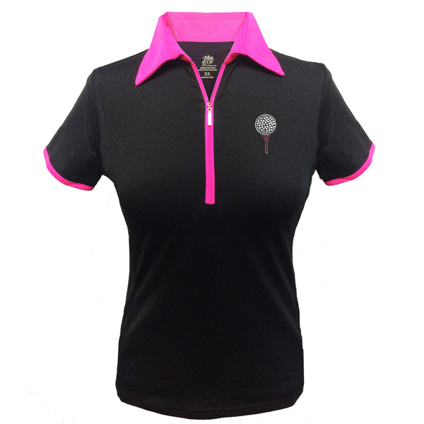 Lady's Polo - Ball & Tee Design
