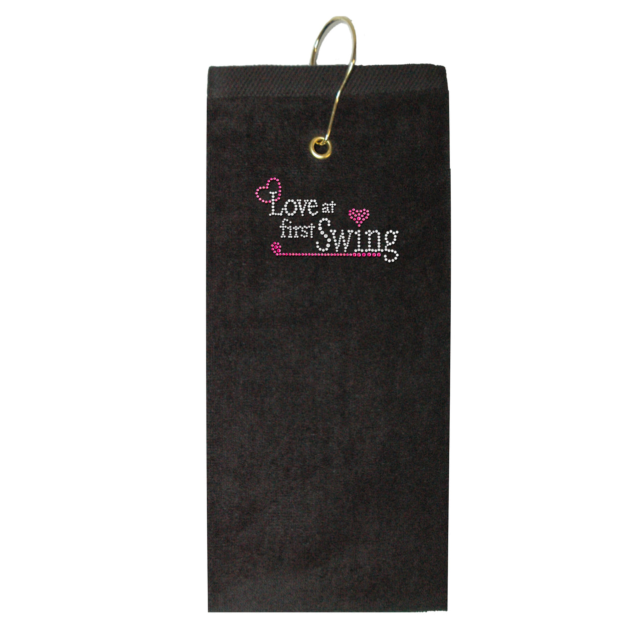 Golf Towel - Love at First Swing
