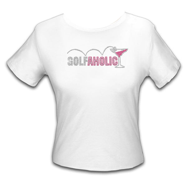 Golf Tee Shirt - Golfaholic