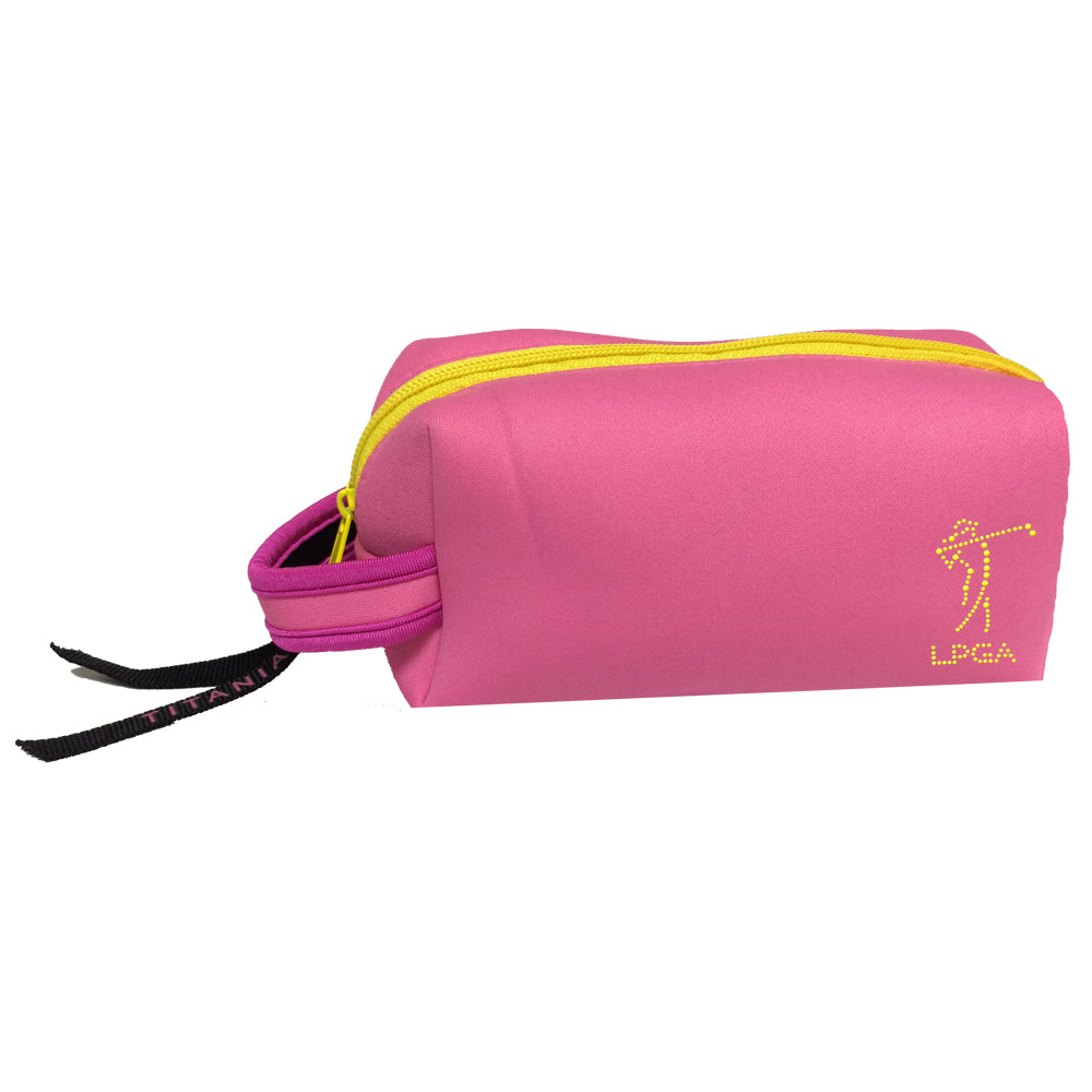 LPGA Neon Cosmetic Bag