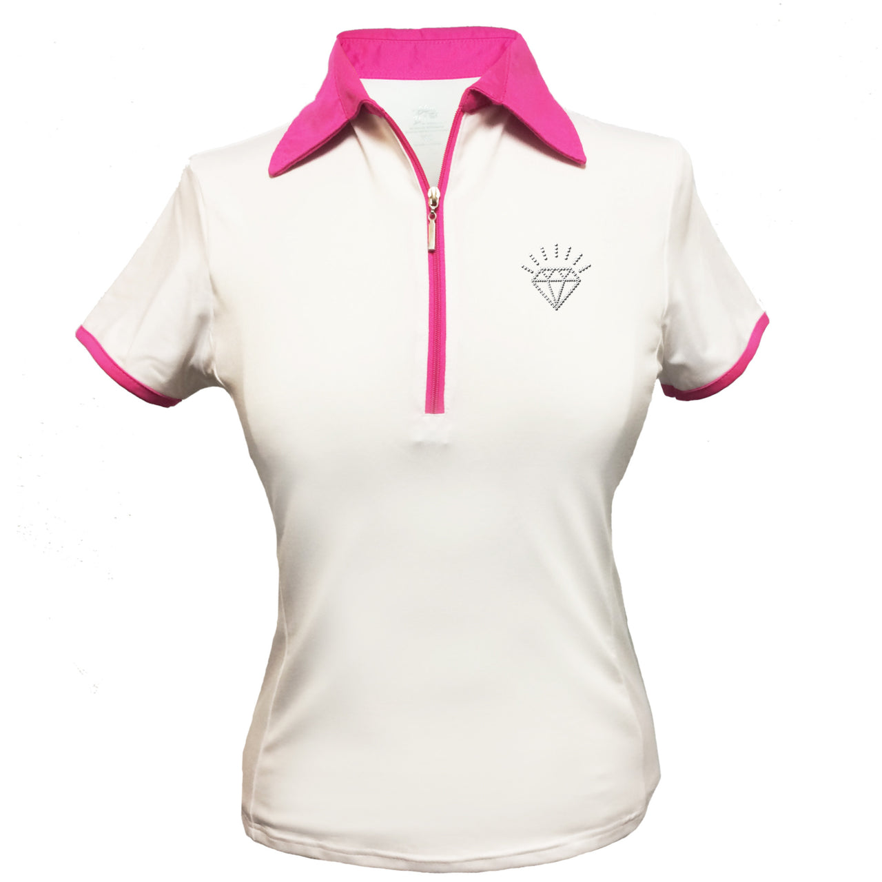 Lady's Polo - Diamond Design