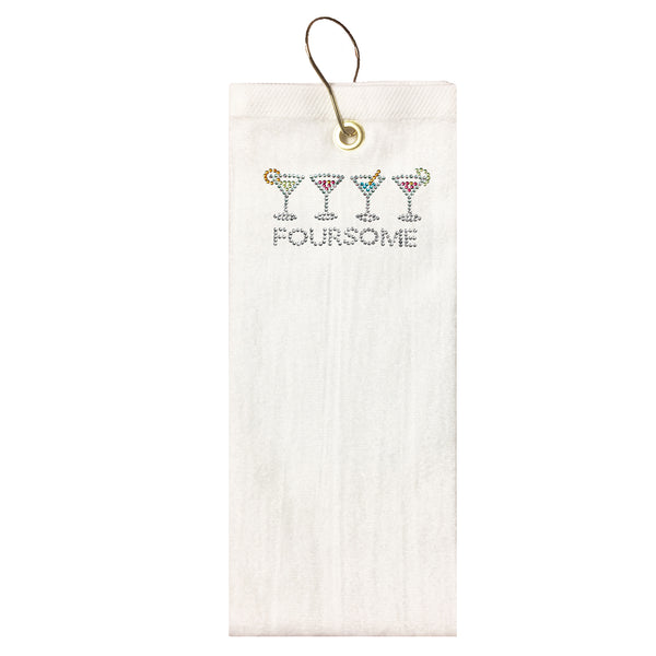 Golf Towel -  Foursome