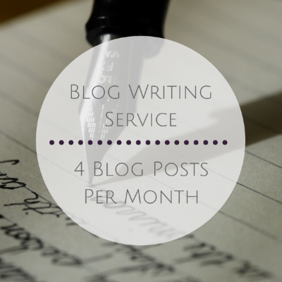 4 Blog Posts per Month