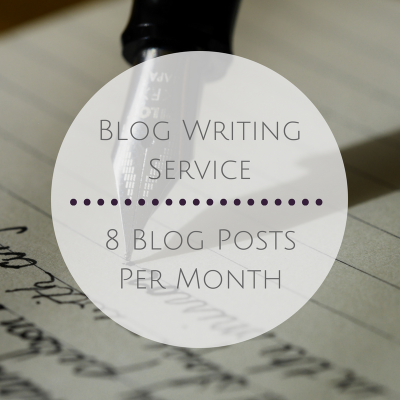 8 Blog Posts per Month