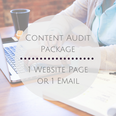 1 Website Page or 1 Email