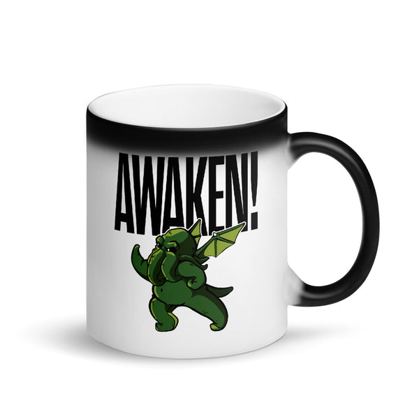 SHUFFLES: AWAKEN! Matte Black Magic Mug