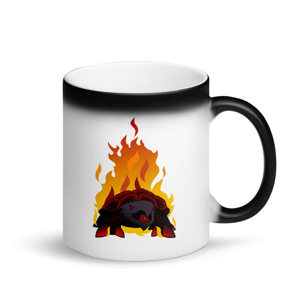 ORTHOS Matte Black Magic Mug