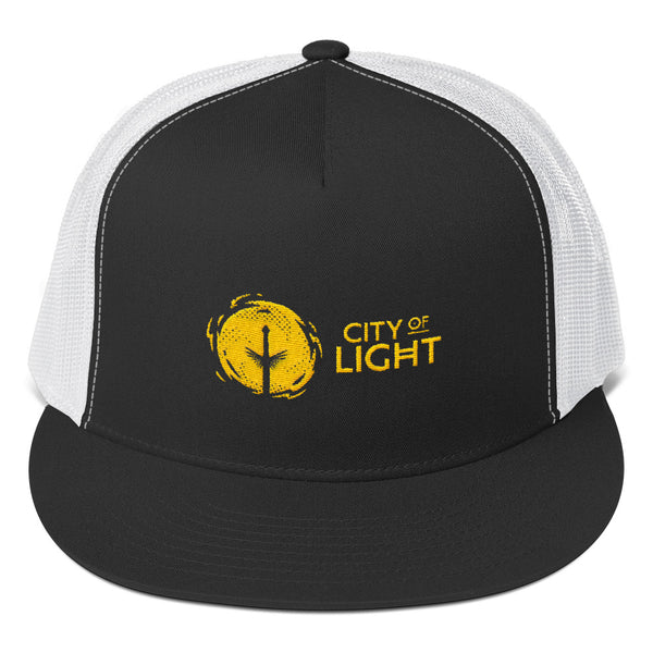 CITY OF LIGHT Trucker Cap