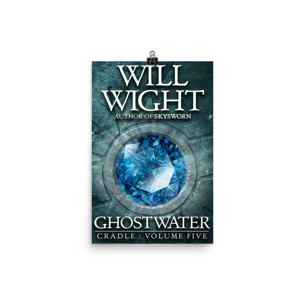 GHOSTWATER 12x18 Cover Poster