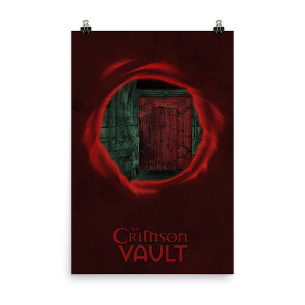 "THE CRIMSON VAULT Poster – 12""x18"" or 24""x36"""