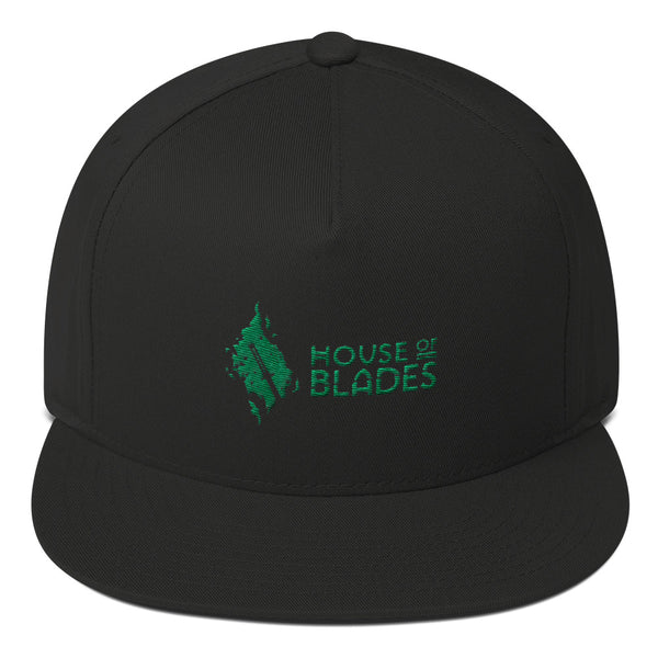 HOUSE OF BLADES Flat Bill Cap