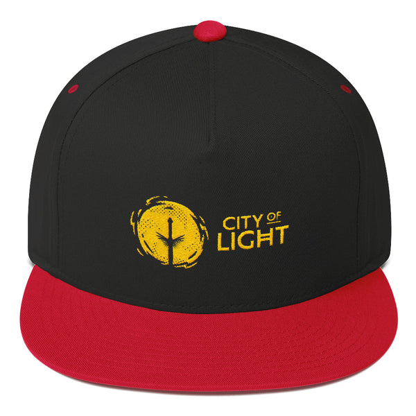 CITY OF LIGHT Flat Bill Cap