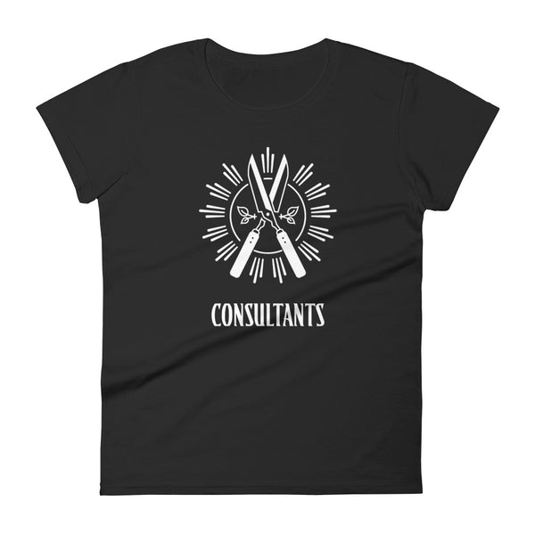 THE CONSULTANTS GUILD Women's short sleeve t-shirt