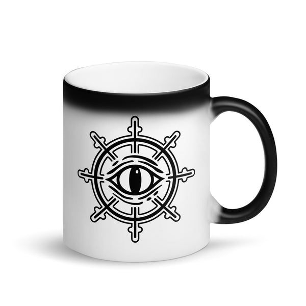 Navigators Matte Black Magic Mug